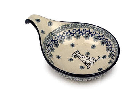"Condiment Bowl, Spoon Rest; 4.75"" x 6.75"""