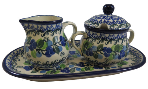 3422-a627 cream & sugar set