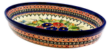 "Medium Oval Baker; 11"" x 7.5"" x 2"""