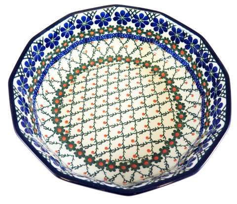 "12 Sided Bowl; 9"" x 9"" x 2.25"""