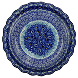 "Large Fluted Pie Plate; 10"" x 2.25"""