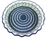 "Deep Dish Fluted Pie Plate; 11.25"" x 2.25"""