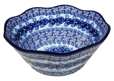 "Medium Curvy Edged Bowl; 10"" x 4"""