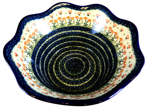 36930-a141 large curvy edge bowl top view