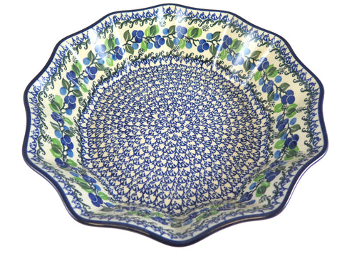 "Large 12 Sided Bowl; 11.5"" x 11.5"" x 4"""