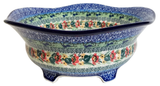 "5 Legged Bowl with Scalloped Trim; 9.5"" x 4"""