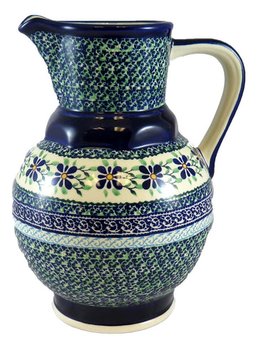 Narrow Necked Large Pitcher; 64+ oz