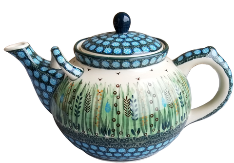 Teapot; 56 oz, Unikat, Signed by the Artist