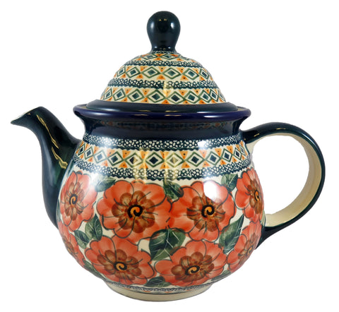 943-Art124 large 48 oz teapot