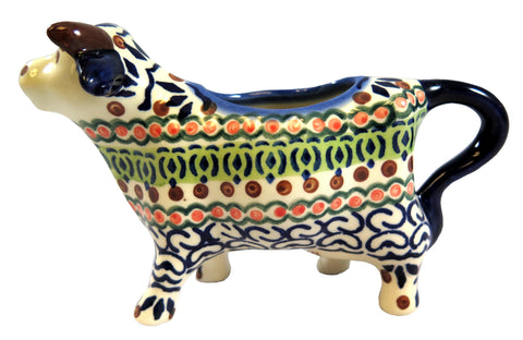 14130-0207 Cow creamer side view