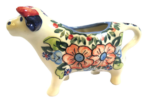 14130-0407 Cow creamer side view