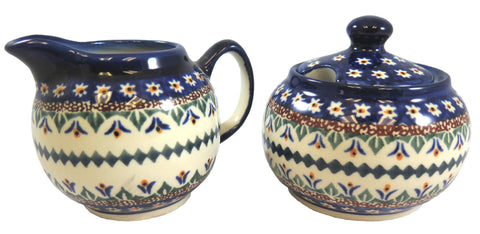 7169-Art104 cream & sugar set