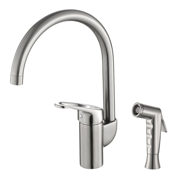 Grana Dish Genie Agrion sink sprayer faucet in brushed nickel finishing