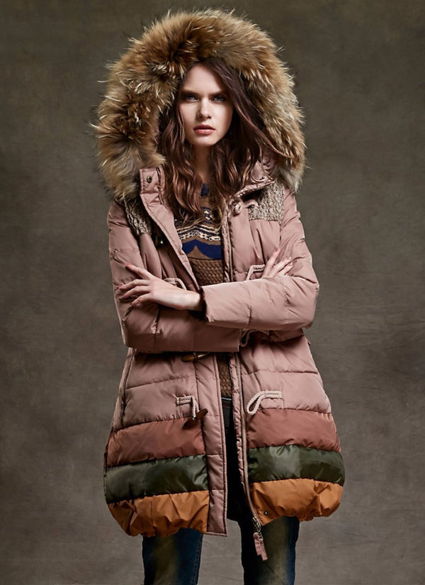 Parka with Faux-Fur Trim | bitpix.io