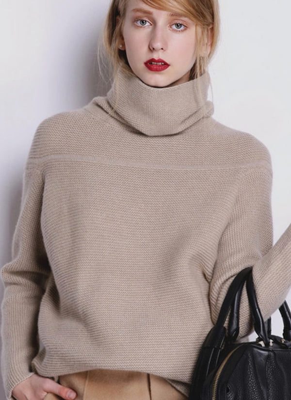 Wool & Cashmere Turtleneck Sweater | bitpix.io