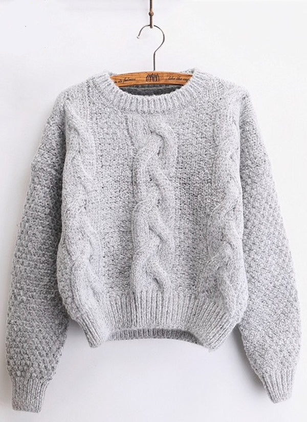 Cable Twist Sweater | bitpix.io