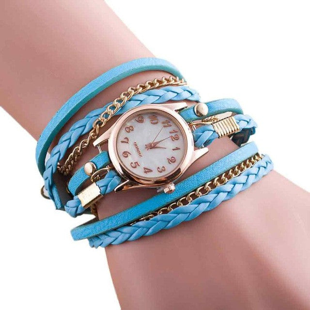 Wrap Around Bracelet Watch | bitpix.io