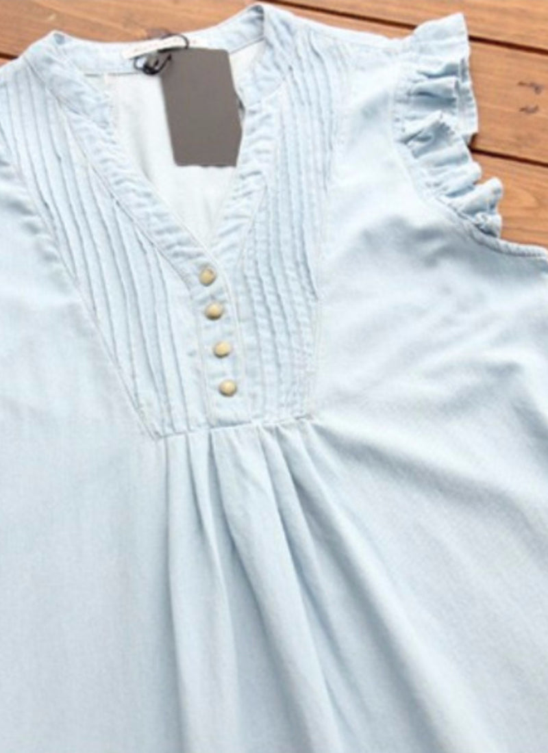 Pretty In Blue Maternity Dress | bitpix.io