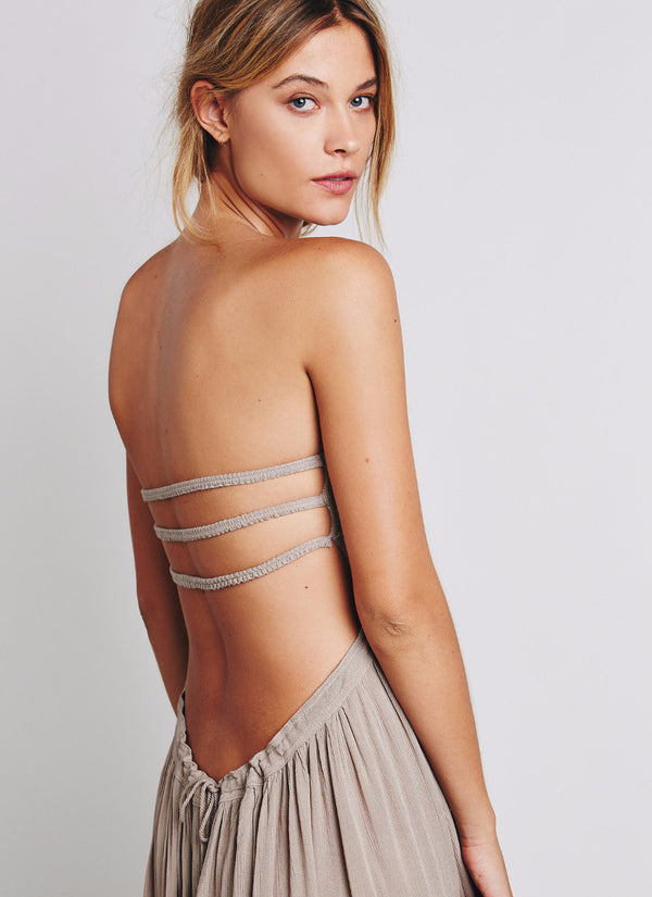 Summer Long Halter Gown | bitpix.io