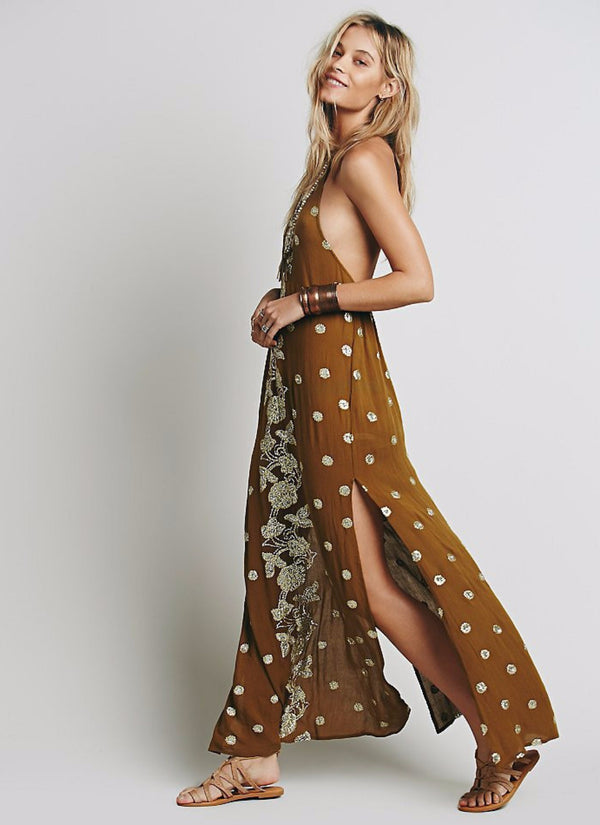 Backless Bohemian Dress | bitpix.io