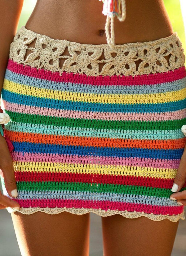 Crochet Beach Skirt | bitpix.io