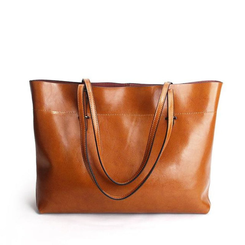 City Leather Tote | bitpix.io