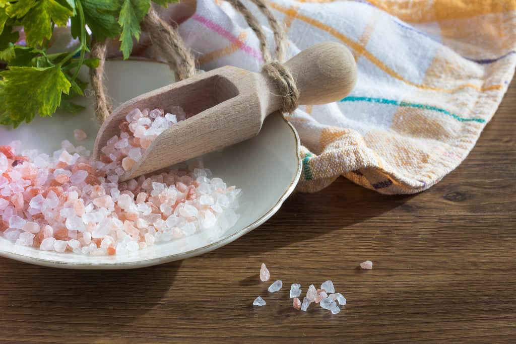Olive Oil and Himalayan Pink Salt Scrub