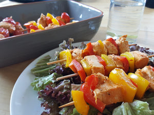 Greek Style Chicken Skewers