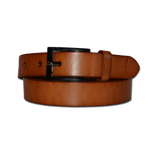 BRENDAN - Brown Genuine Leather Boys School Belt  - Belt N Bags