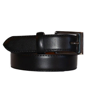 ALEX - Black Genuine Leather Boys Belt  - Belt N Bags