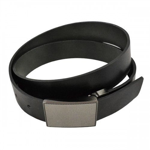 BROOKLYN - Mens Bonded Reversible Belt in Black & Charcoal - Belt N Bags