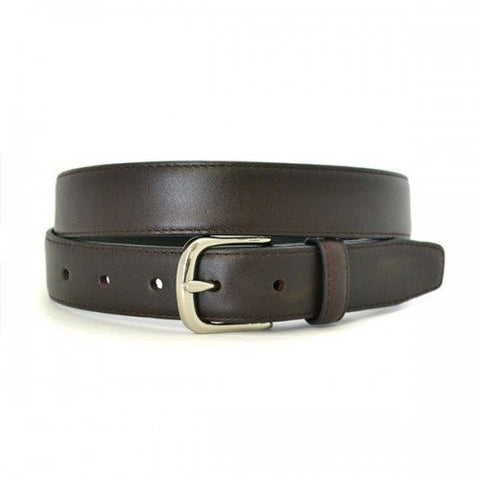 ANDRE - Mens Brown Genuine Leather Belt