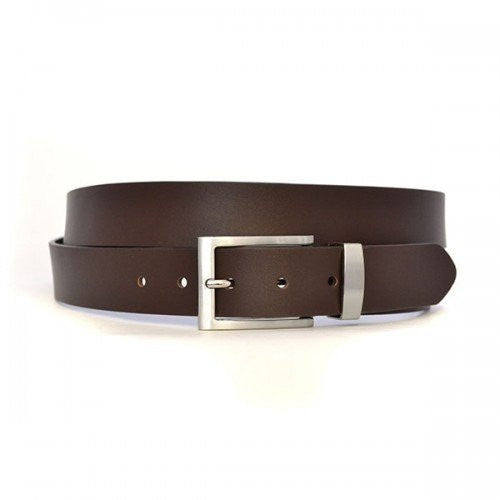 ASHLAR - Mens Brown Large Genuine Leather Belt-Mens Belt-BeltNBags-BeltNBags