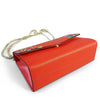 IVANHOE - Addison Road Red Leather Clutch Bag with Tropical Print  - Belt N Bags