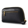 CARMICHAEL - Ladies Black Leather Cowhide Wristlet Wallet Purse  - Belt N Bags