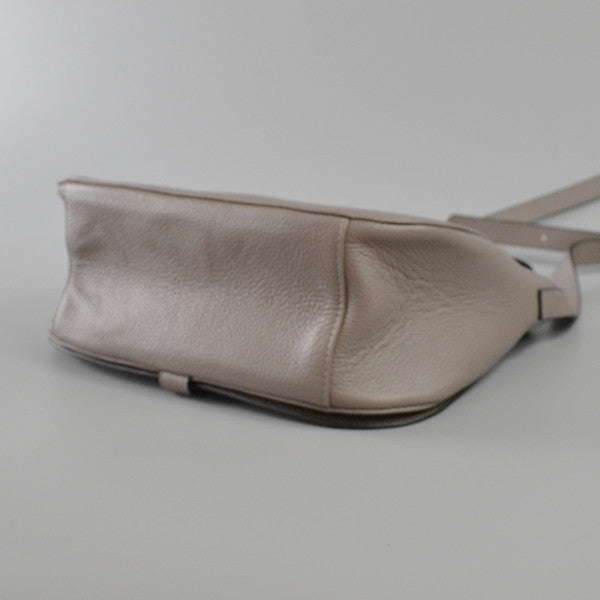 ALBERT PARK - Storm Pebbled Leather Saddle Bag  - Belt N Bags