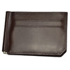 APOLLO - Brown Genuine Leather Card Holder Thin Wallet - Belt N Bags