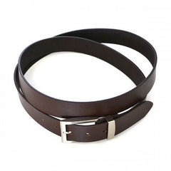 ASHLAR - Mens Brown Large Genuine Leather Belt