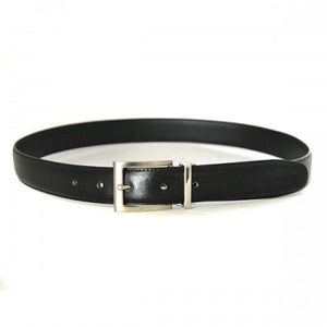 BEAU - Boys Black Genuine Leather School Belt - Belt N Bags