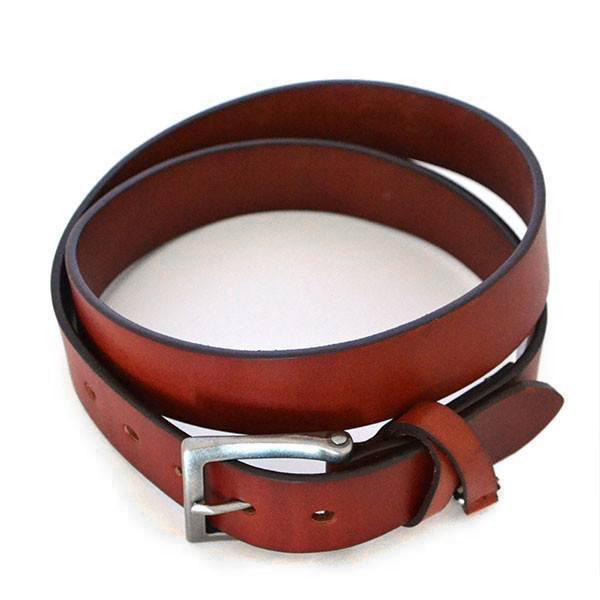 BENARD - Mens Brown Genuine Leather Belt - Belt N Bags