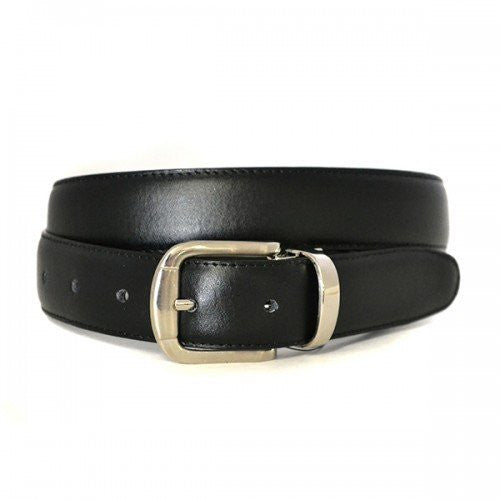 BJORN - Boys Black Genuine Leather School Belt - Belt N Bags
