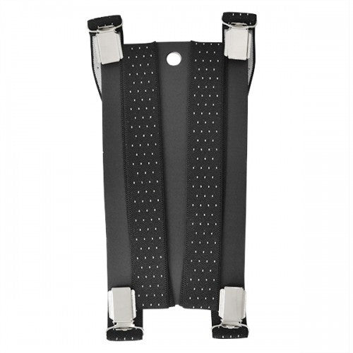 BLAIN - Mens Black and White Fashion Braces - Belt N Bags