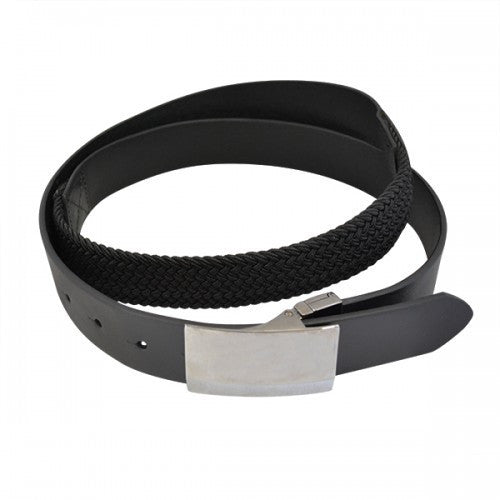 BRIXTON - Mens Black Genuine Leather Flexi-Belt - Belt N Bags