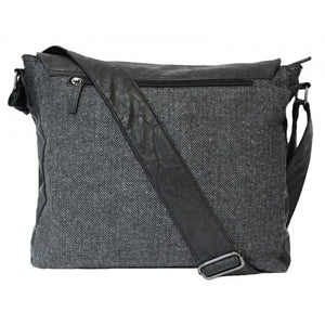 BALLARAT - Mens Black Crossbody Bag  - Belt N Bags