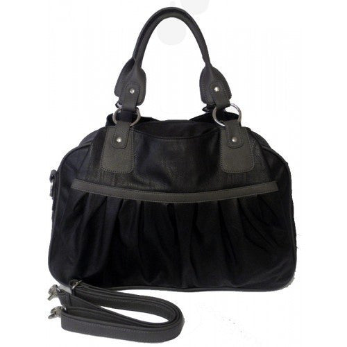 BIANCA - Black Baby Changing Bag