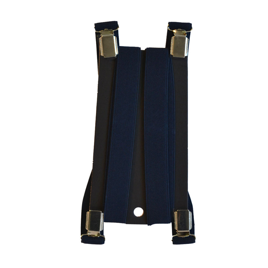 HILTON - Mens Navy Fashion Braces  - Belt N Bags