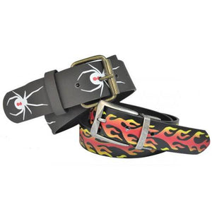 Boys Fast Track PU Belt Twin Pack  - Belt N Bags