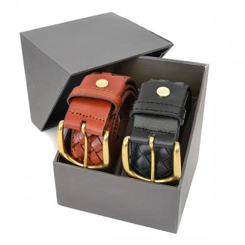 BRADLEY - Mens Twin Belt Gift Pack - Belt N Bags