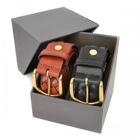 BRADLEY - Mens Twin Belt Gift Pack