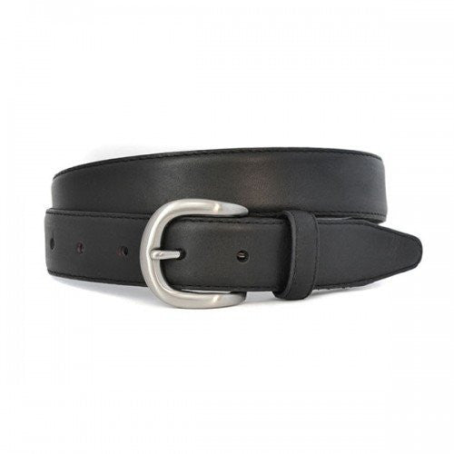 BRAYDAN - Mens Black Genuine Leather Belt  - Belt N Bags